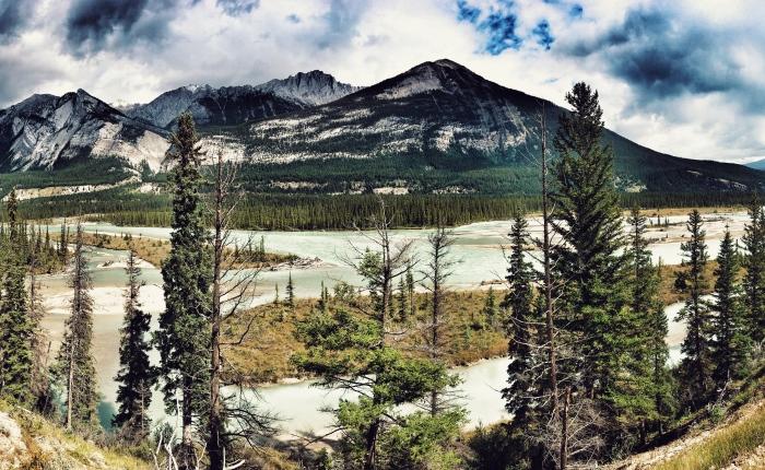 Z Banffu přes Edmonton doJasperu